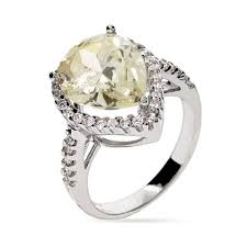 canary engagement rings cut canary yellow cz engagement ring s addiction