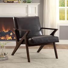 Brown Arm Chairs Design Ideas Brown Houndstooth Accent Chair Chair Design Ideas
