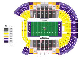 map us bank stadium minnesota vikings season ticket renewal stadium map