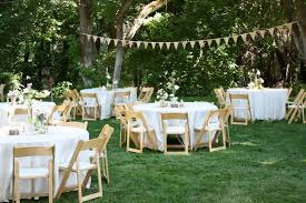 small garden reception decoration ideas backyard wedding reception