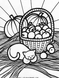 thanksgiving cornucopia coloring pages autumn coloring pages fall harvest coloring pages coloring