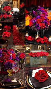 Red And Gold Home Decor Best 25 Red Purple Wedding Ideas On Pinterest Purple Wedding