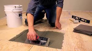 Putting Laminate Flooring Over Concrete Installing Laminate Flooring Over Cement Board Carpet Vidalondon
