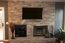 Decorating Living Room With Stone Fireplace Living Room Living Room With Tv Above Fireplace Decorating Ideas