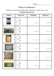 measuring in cm or m by mollytrippe teaching resources tes