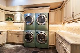 luxury laundry rooms youre not seeing double multiple washers and