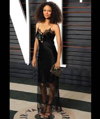 Vanity Fair After Oscar Party Thandie Newton Arrives The 2016 Vanity Fair Oscar Party Oscars