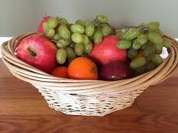 fruit in a basket easy dyi fruit basket gift idea melanie cooks
