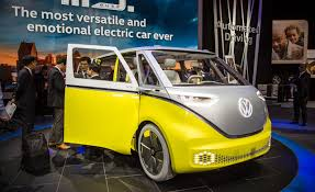 volkswagen minibus electric volkswagen i d buzz ev concept photos and info u2013 news u2013 car and