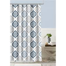 Turquoise And Grey Shower Curtain Shop Shower Curtains U0026 Liners At Lowes Com