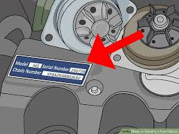 how to identify a ford motor 11 steps with pictures wikihow