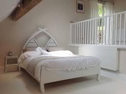 handmade bowed bed with wooden headboard u2013 abowed