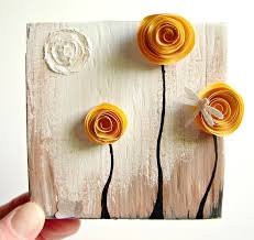 recycled art crafts beautiful wall decoration with crafts from