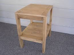 small wood end table diy end table decorative furniture the fabulous home ideas