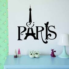 online get cheap paris wall stickers aliexpress com alibaba group home decor new eiffel tower paris living room bedroom background wall stickers wholesale 3d waterproof removable