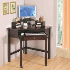 Small Corner Desk With Drawers Desk Image Of Corner Small Computer Desk With Wheels Computer Desk