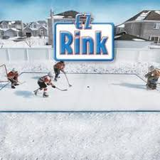 22 u0027x33 u0027 ice n u0027 go backyard reusable ice rink kit cre8ive