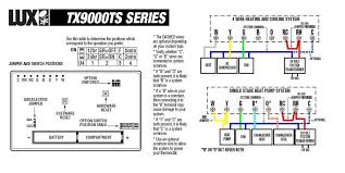 lux 500 thermostat wiring diagram lux wiring diagrams collection