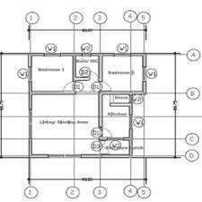 three bedroom ground floor plan ground floor plan of three bedroom bungalow research image
