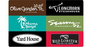 darden restaurants gift cards free 20 darden egift card w 100 darden gift card purchase