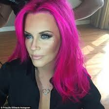 jenny mccarthy view dark hair jenny mccarthy debuts pink hair on instagram before heading to the