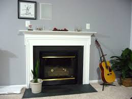 simple modern home decoration with fireplace electric home depot
