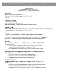 Best Resume Format For Undergraduate Students by How A Curriculum Vitae Influences Your Chances Of Getting Hired
