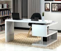 Contemporary Home Decor Contemporary Modern Office Desks White Desk 206 Lacquer Reception
