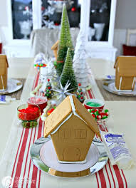 Gingerbread House Decoration Gingerbread House Decorating Party Today U0027s Creative Life