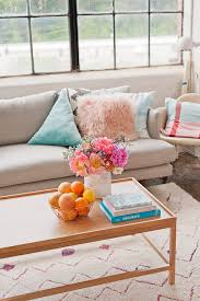Style A Coffee Table Tips And Tricks For How To Style A Coffee Table Three Ways