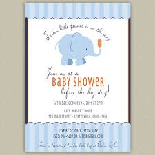 peanut baby shower our peanut elephant printable baby shower invitation with