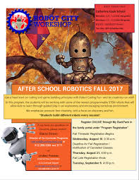robot heart halloween party 2017 after programs parents robot city workshop