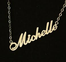 personalized name personalized name necklace bridal necklace wedding gift 18k gold
