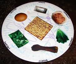 seder meal plate 15 diy passover seder plates your kids will to make huffpost