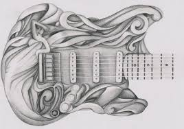 guitar detail by evanescentlaycrimose on deviantart