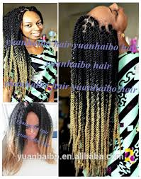 ombre marley hair 2014 new fashion wholesale cheap synthetic kinky twist braid