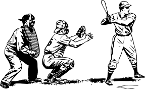 baseball bat black white art coloring book colouring sheet