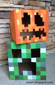 best 25 minecraft pumpkin ideas on pinterest pearler beads