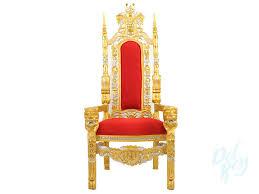 gold throne chair throne chair rentals king chair queen