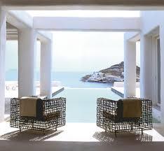 mobilier outdoor luxe le monde de beauté infinie de kenneth cobonpue