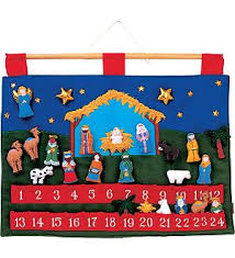 nativity advent calendar zero waste advent calendars my zero waste