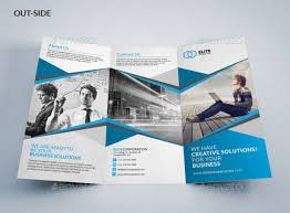3 fold brochure template free psd tri fold brochure templates with care and hospital