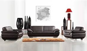 Leather Sofa Italian Italian Leather Sofa Set In Espresso Finish Leather Sofas