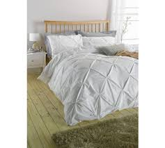 buy heart of house hadley white pintuck bedding set double at