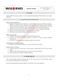 mess matic sirion lx balans makinası kullanım kılavuzu sayfa 4