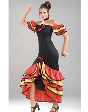 Halloween Costumes Spanish Dancer Flamenco Costume Ebay