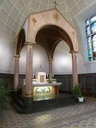 decoration arcade platre eglise ste jeanne d u0027arc de mulhouse