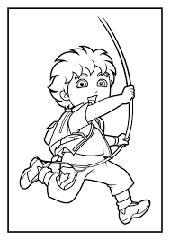 diego coloring pages getcoloringpages com