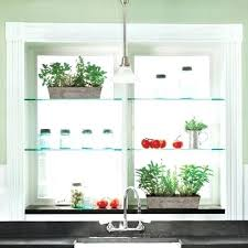 kitchen window shelf ideas window shelves how to make glass shelf brackets glass window