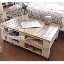 farmhouse style coffee table restored pallet wood coffee table lemmik large in farmhouse